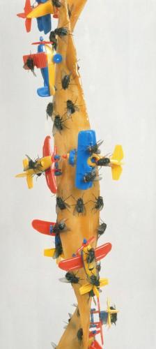 """1/VI Detail, """"Werkgruppe Sieben Fliegenfänger  VI"""", 1997-98"""