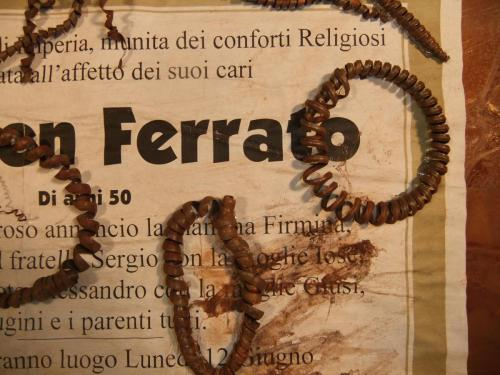 """""""Carmen Ferraro"""", Detail"""