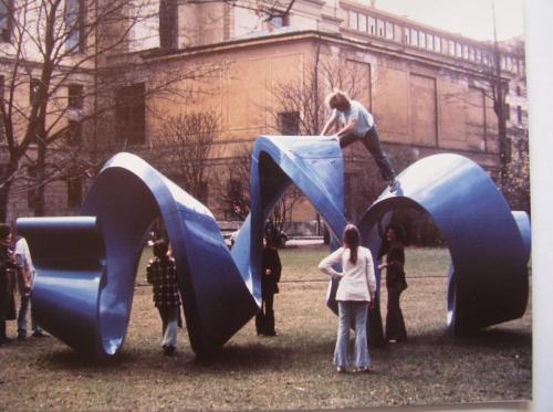Im Park der Kunstakademie