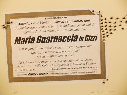 """""""Maria Guarnaccia in Gizzi"""""""